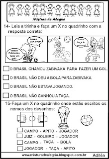 Simulado português tema copa mundial 2018