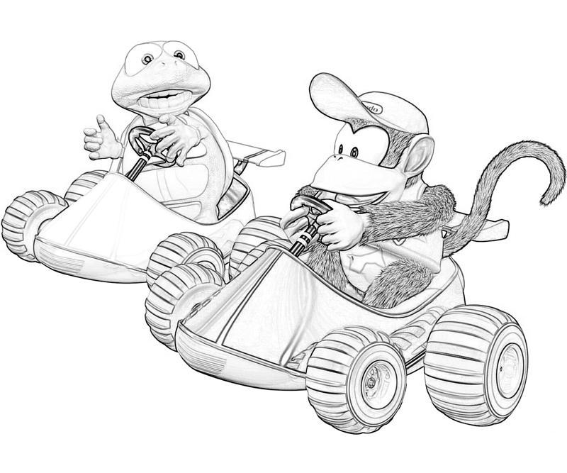 Donkey Kong Country Returns Diddy Kong Racing   Mario
