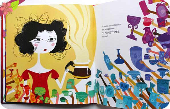 Blanche-Neige et les 77 nains de Davide Cali et Raphaëlle Barbanègre - éditions Talents Hauts