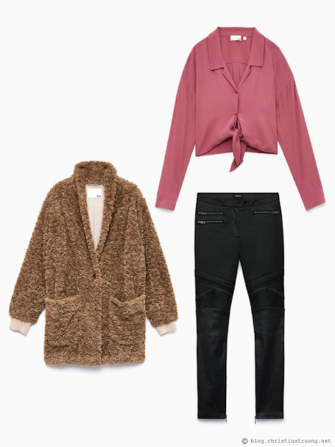 Outfit on a Budget Shop the Sale Winter 2018 outfits for under $200 from Aritzia Wilfred Free Rodgers Blouse. Talula Moto Pant. Wilfred Free Grete Jacket