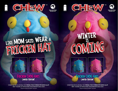 CHEW Fricken Chog Hats by Skelton Crew Studio