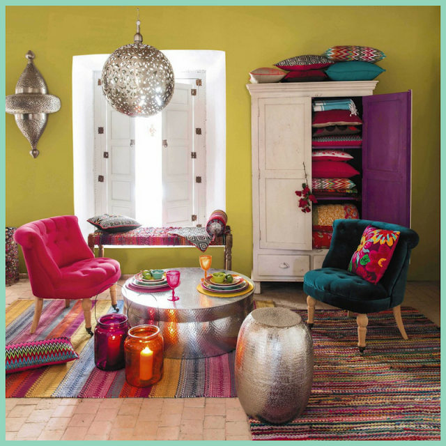 Ideas para una decoración Boho Chic-14
