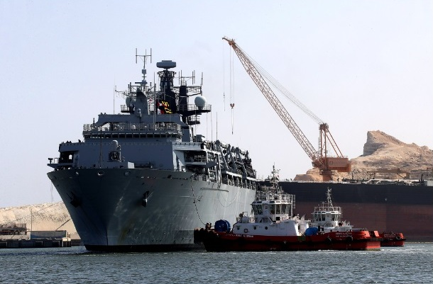 Port of Duqm welcomes UK's HMS Albion - Duqm 1