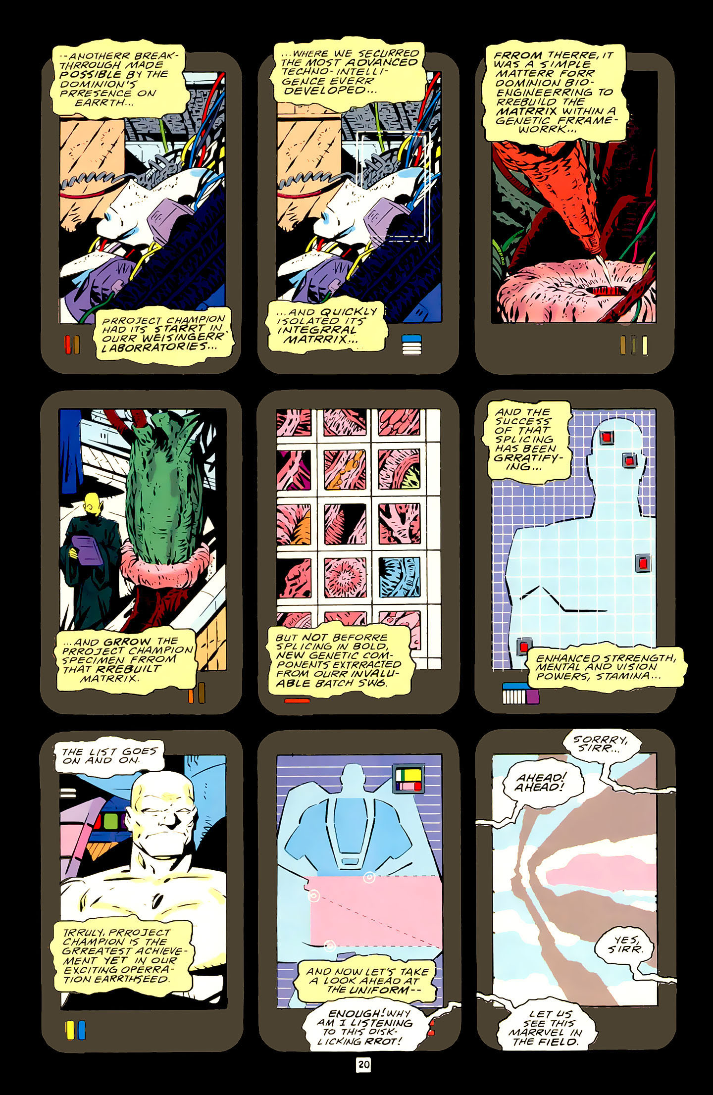 Legion of Super-Heroes (1989) 21 Page 20