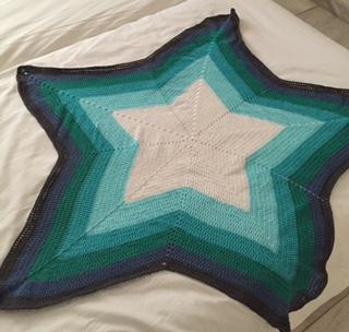 Arianeb Handmade Sternendecke In Den Farben Des Meeres