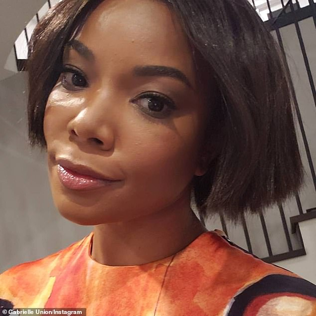 Gabrielle Union stuns in colorful top and midi skirt as she steps out in LA