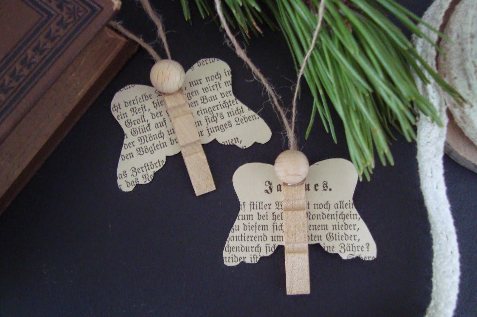 Basteln Mit Holz Wscheklammern Weihnachten  Bvraocom
