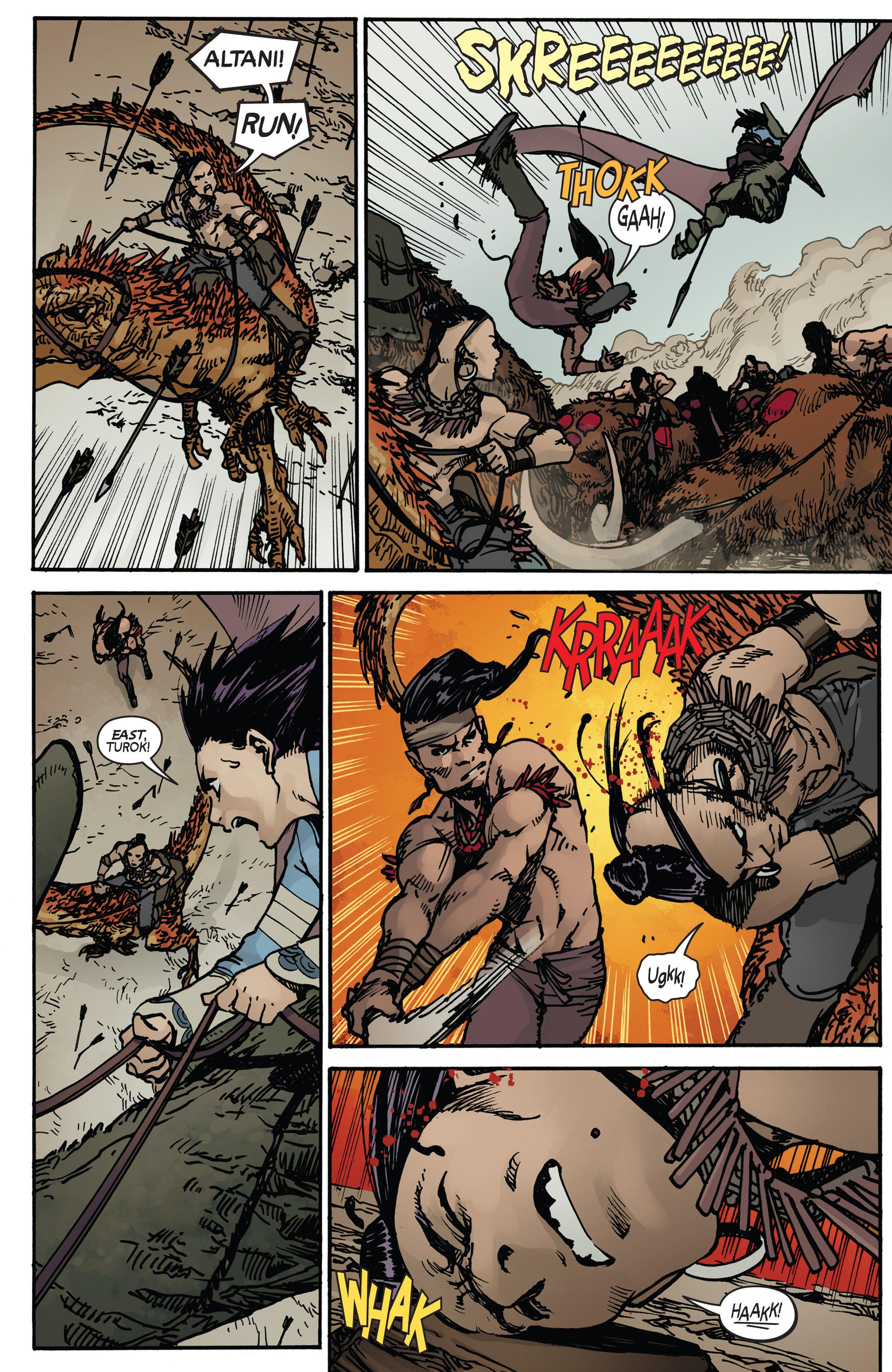 Read online Turok: Dinosaur Hunter (2014) comic -  Issue # _TPB 2 - 22