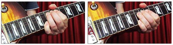 Bendings Mientras se Mantiene Pulsada una Nota Fija en Guitarra Eléctrica