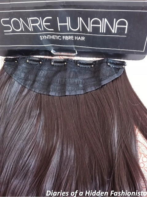 Sonrie Hunaina | Hair Extensions in shade Coco Brownie | Review  - Diaries of a Hidden Fashionista