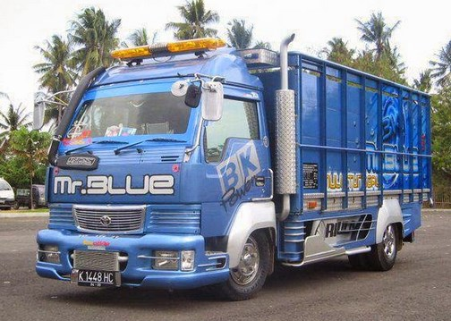 truk canter modifikasi spesial sakera