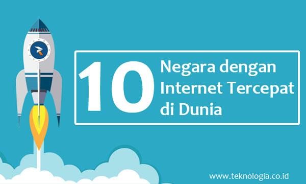 10 Negara dengan Internet Tercepat di Dunia