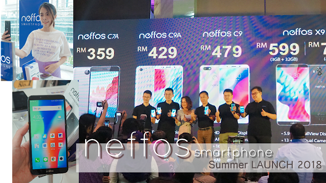 TP-Link and Neffos UNVEILS Full-view Smartphones with New AI
