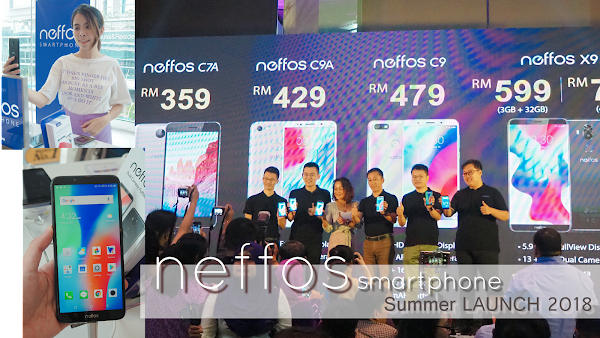 TP-Link and Neffos UNVEILS Full-view Smartphones with New AI Face-Unlocking Technology