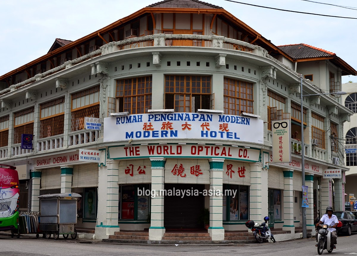 Heritage Buildings in George Town, Penang
