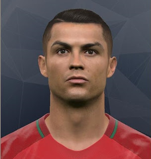 PES 2017 Faces Cristiano Ronaldo by Mo Ha