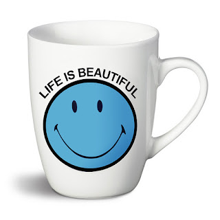 White Smiley Mug