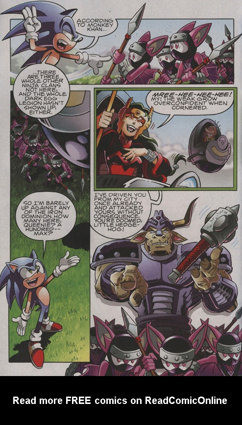 Read online Sonic The Hedgehog comic -  Issue #206 - 3