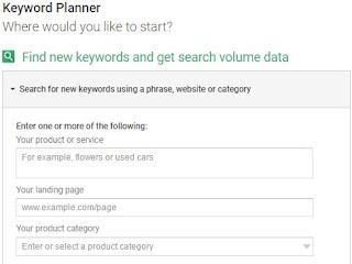 tool perencanaan keyword