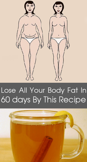 Lose All Your Body Fat in 60 days By This Recipe