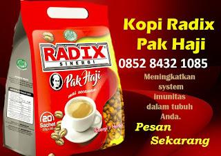 khasiat komposisi Kopi herbal stamina radix sinergis hpai original Asli