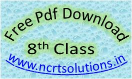 NCERT Solutions Class 8 PDF Free Download