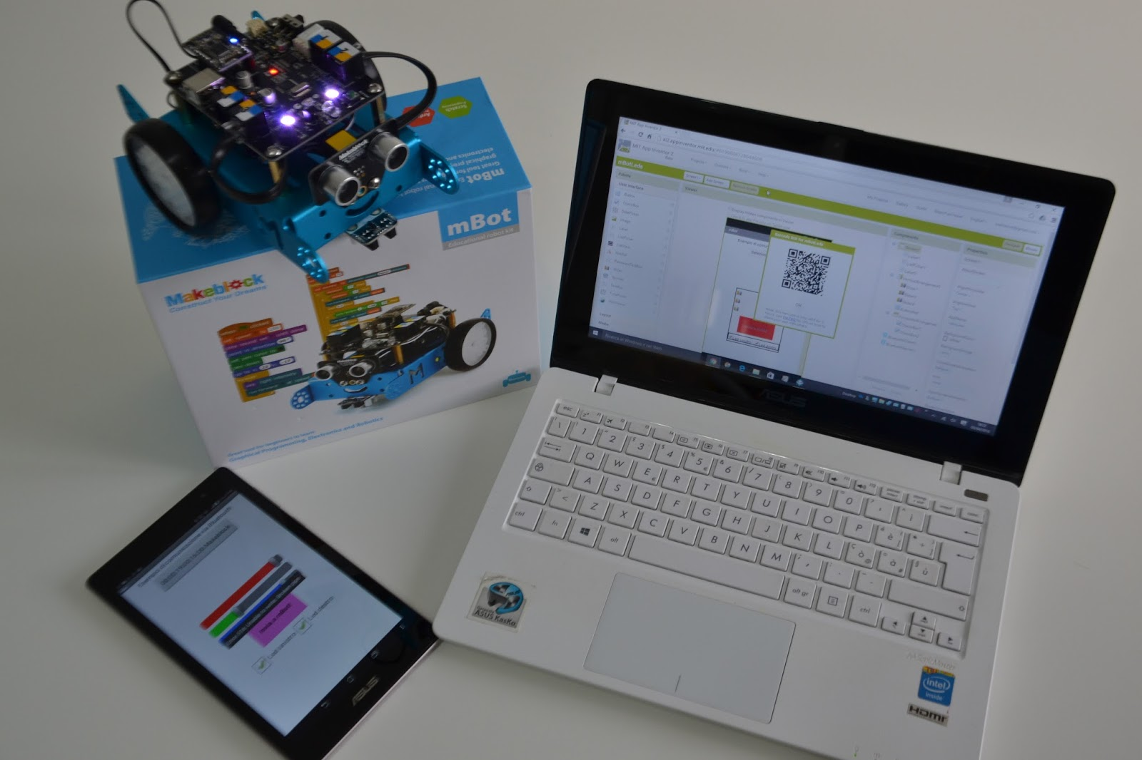 Programming mBot with App Inventor 2 ~ Web Tools Review