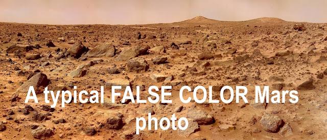 Baby Blue Sky Seen On Mars In Many NASA Photos Mars%252C%2Bfalse%2Bcolor