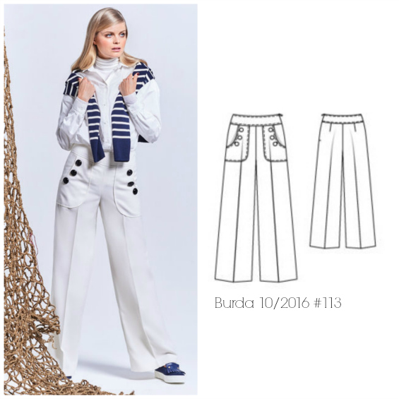 burda pants pattern