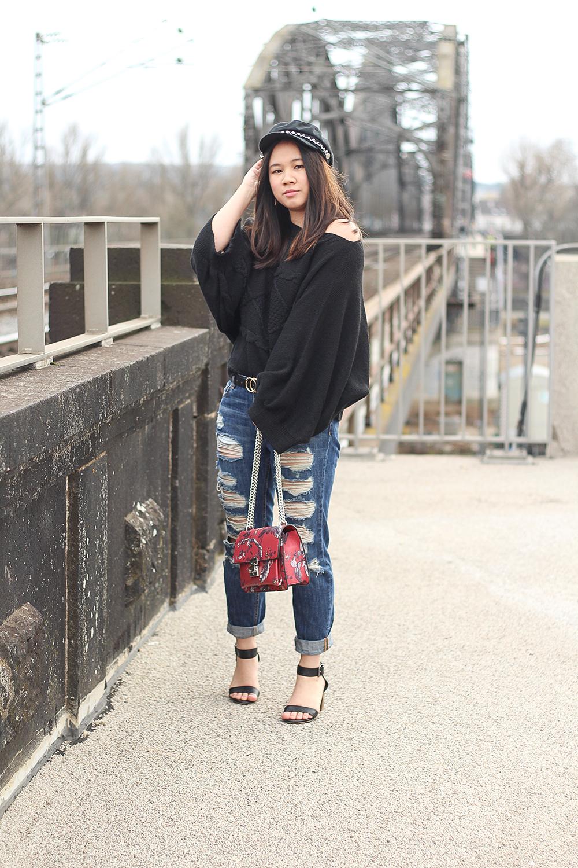 Femme Luxe Black Sweater