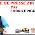 Revue de presse (Français) Zik fm du mardi 25 septembre 2018 par Fabrice Nguéma