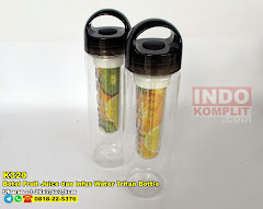 Botol Fruit Juice Dan Infus Water Tritan Bottle