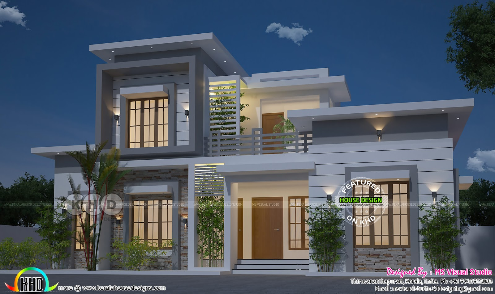 Beautiful contemporary style house with 3 bedrooms