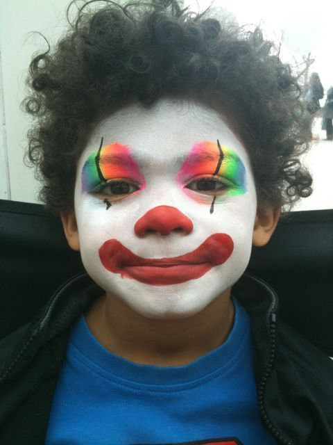 easy face paintings for boys art projects art ideas