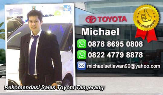 Rekomendasi Sales Toyota Tangerang City