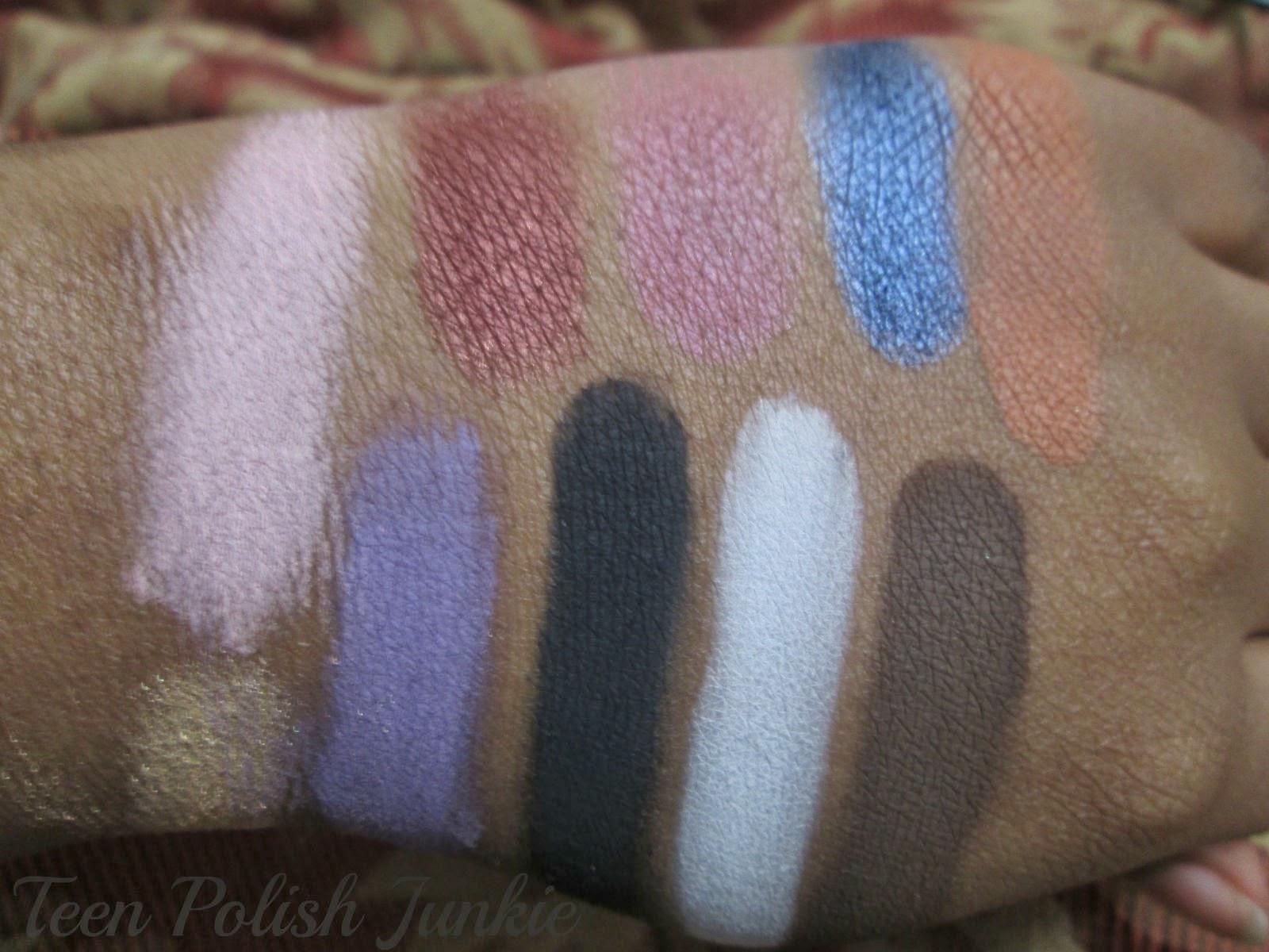 Teen Polish Junkie: Jordane Cosmetics - S&R Series Eyeshadow Palette