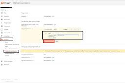 Cara mengalihkan index blog dari dinamis ke halaman statis di blogspot