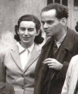 Teresa Mattei with her first husband, the partisan leader Bruno Sanguinetti