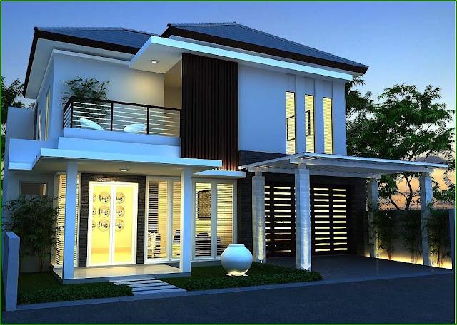 Desain Rumah Minimalis 1 Dan 2 Lantai Type 120