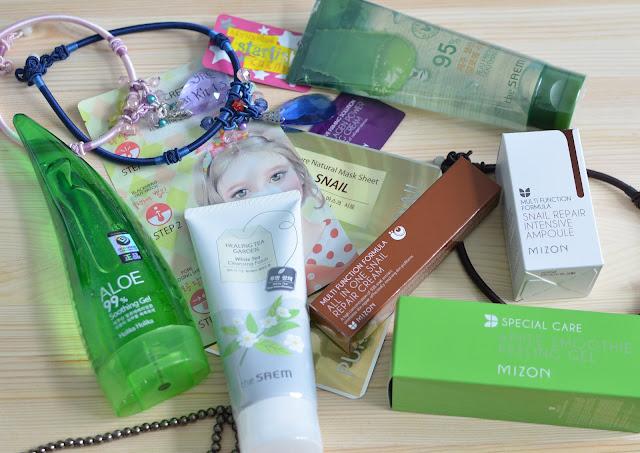 Мои корейские радости MIZON, The Saem, Holika Holika