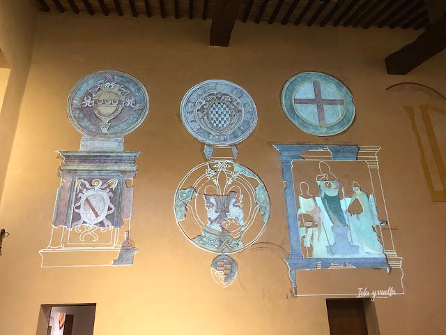 Sala del Castillo de Lari