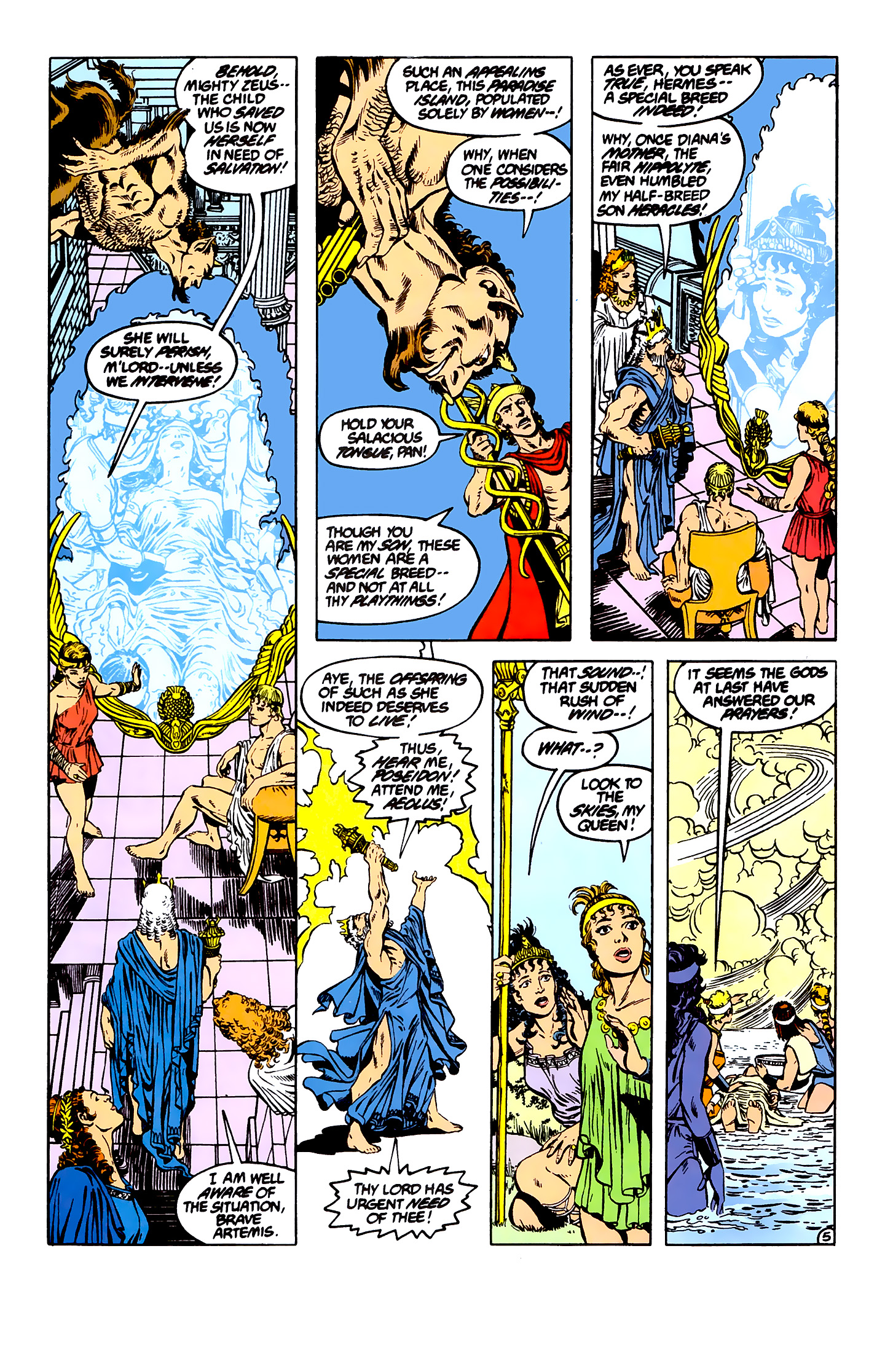 Read online Wonder Woman (1987) comic -  Issue #7 - 5