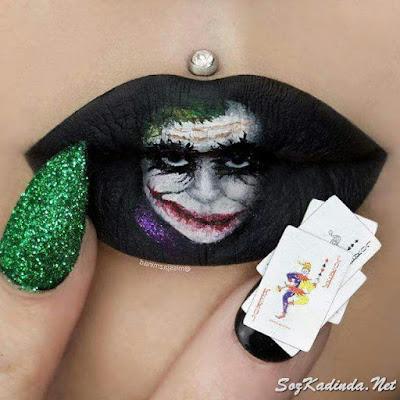 en güzel dudak süsleme modelleri