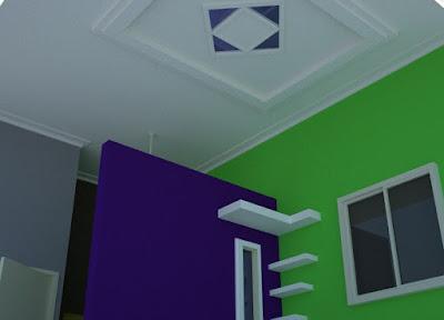 Desain Warna Cat Plafon  Minimalis Untuk Rumah Masa Kini
