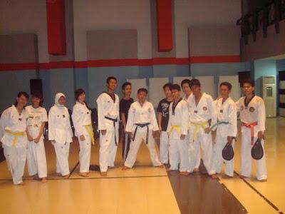 belajar taekwondo dan muaythai