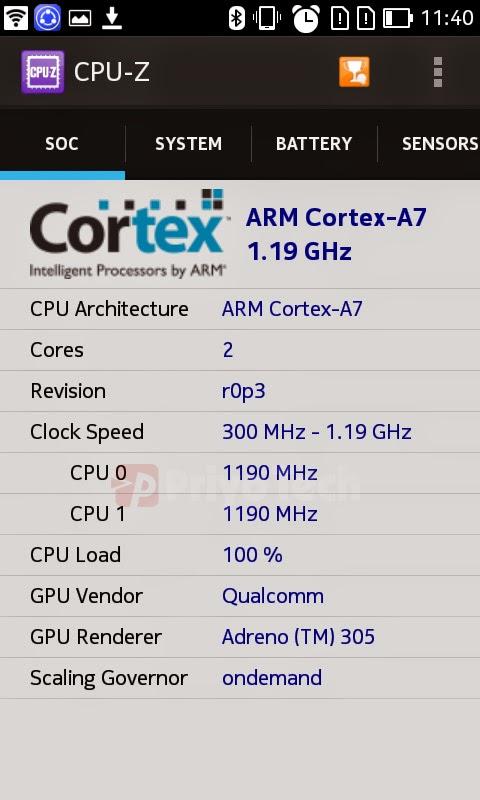 Nokia X2 Hands-on GPU