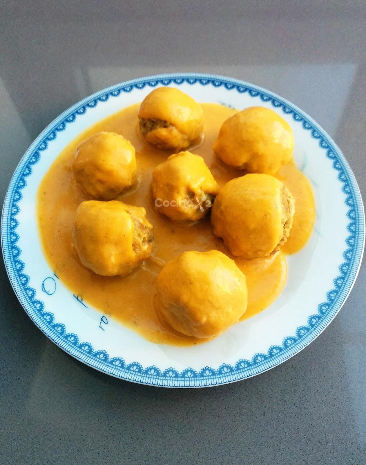Cocinax2 las recetas de laurita cocina por niveles con - Acompanamiento para albondigas ...