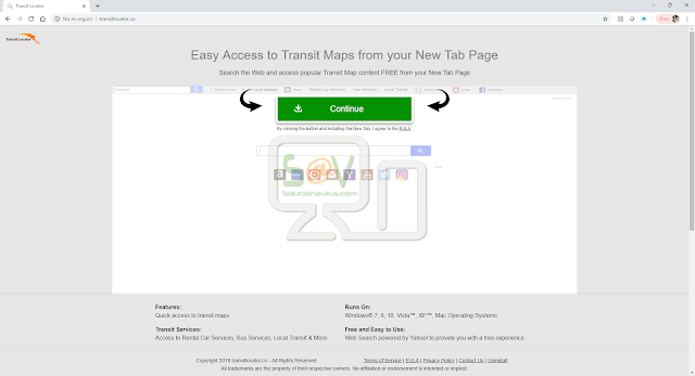 Transit Locator (New Tab)
