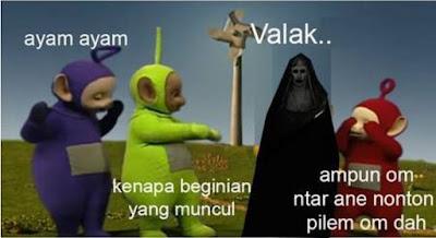 14 Meme Editan Foto Valak The Conjuring 2 Ini Bikin Ketawa Ngakak Sampai Perut Mules