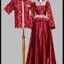 Model Baju Batik Kombinasi Terbaru Modern Trendy